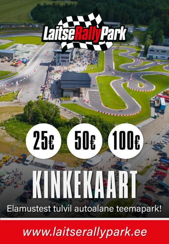 Laitse Rally Park / KINKEKAART