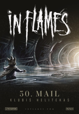 IN FLAMES - I, The Mask Tour