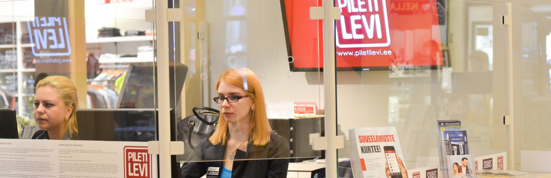 Piletilevi müügipunkt Solaris Keskuses alates 1. oktoobrist avatud 10:00-21:00