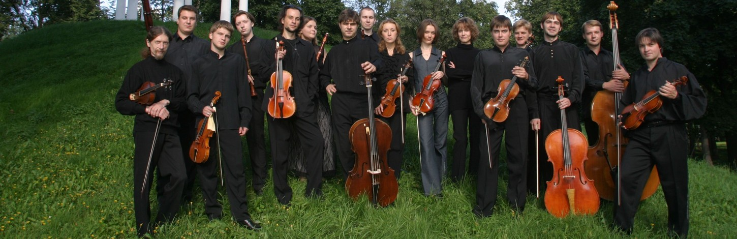 The best Baroque orchestra of Russia first time in Estonia!