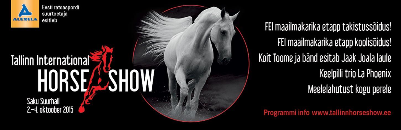 Alexela presents: TALLINN INTERNATIONAL HORSE SHOW 2015
