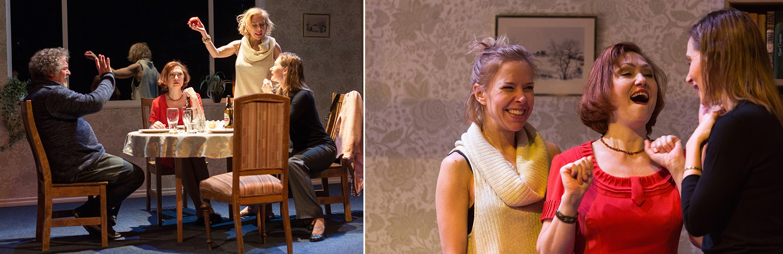 Endlas esietendub Ingomar Vihmari lavastatud olmeline tragikomöödia 'Olga, Irina ja mina'