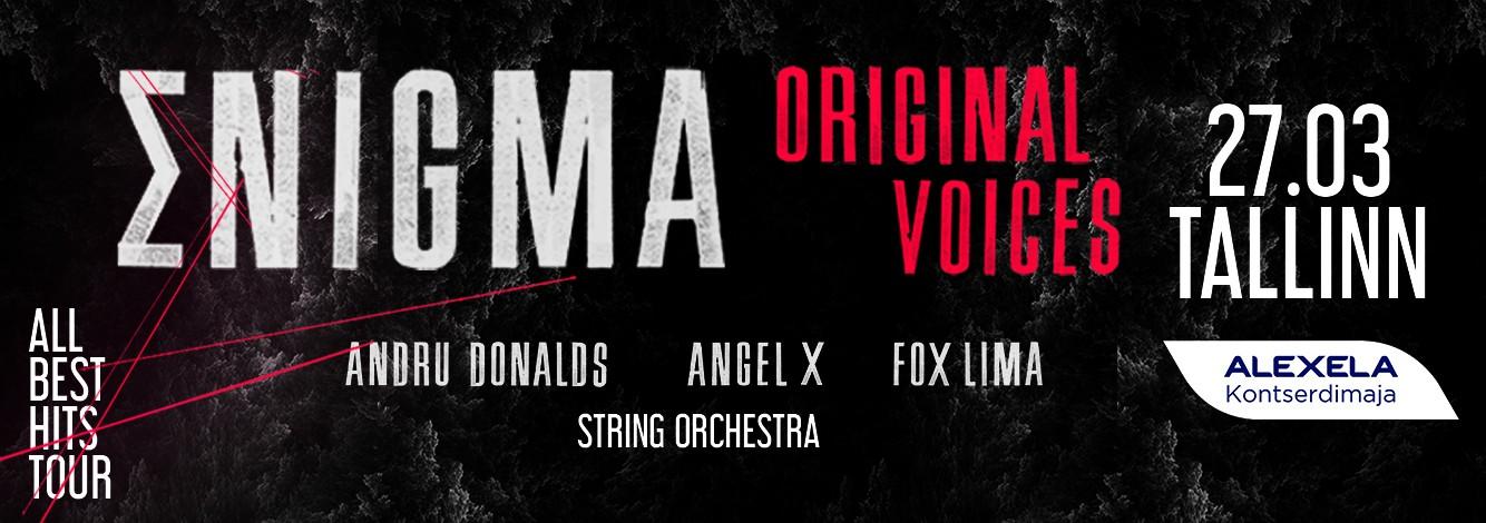 Enigma esineb Eestis esimest korda 27. märtsil