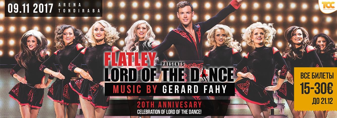 Шоу Lord of the Dance отпразднует свое 20-летие в Таллинне!