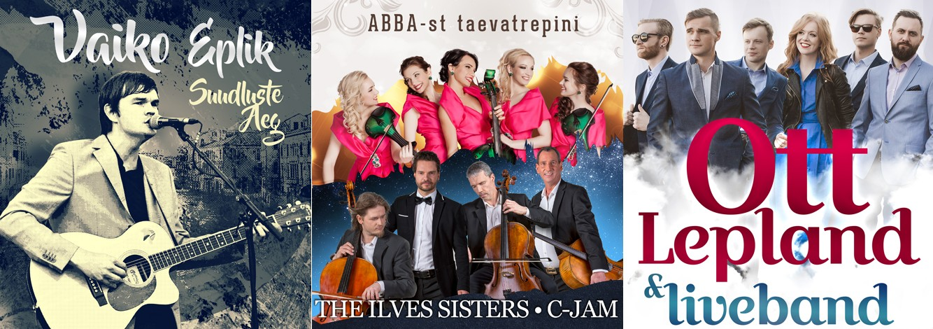 Naistepäev on juba ukse ees - Tartu Kontsert!